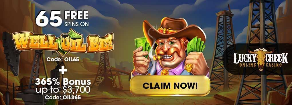 Lucky Creek Casino No Deposit Bonus Codes