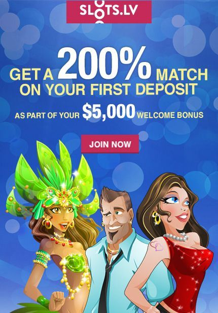 Free $50 at Slots.LV Mobile Casino