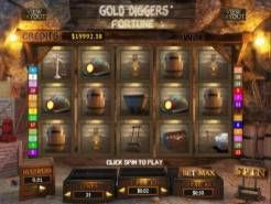 Gold Diggers Fortune Slots
